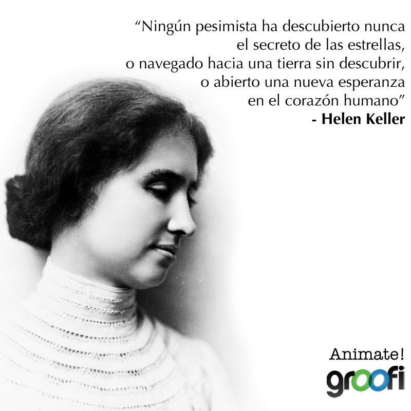 Frases De Hellen Keller Amigos Helen Keller Frases Quotes