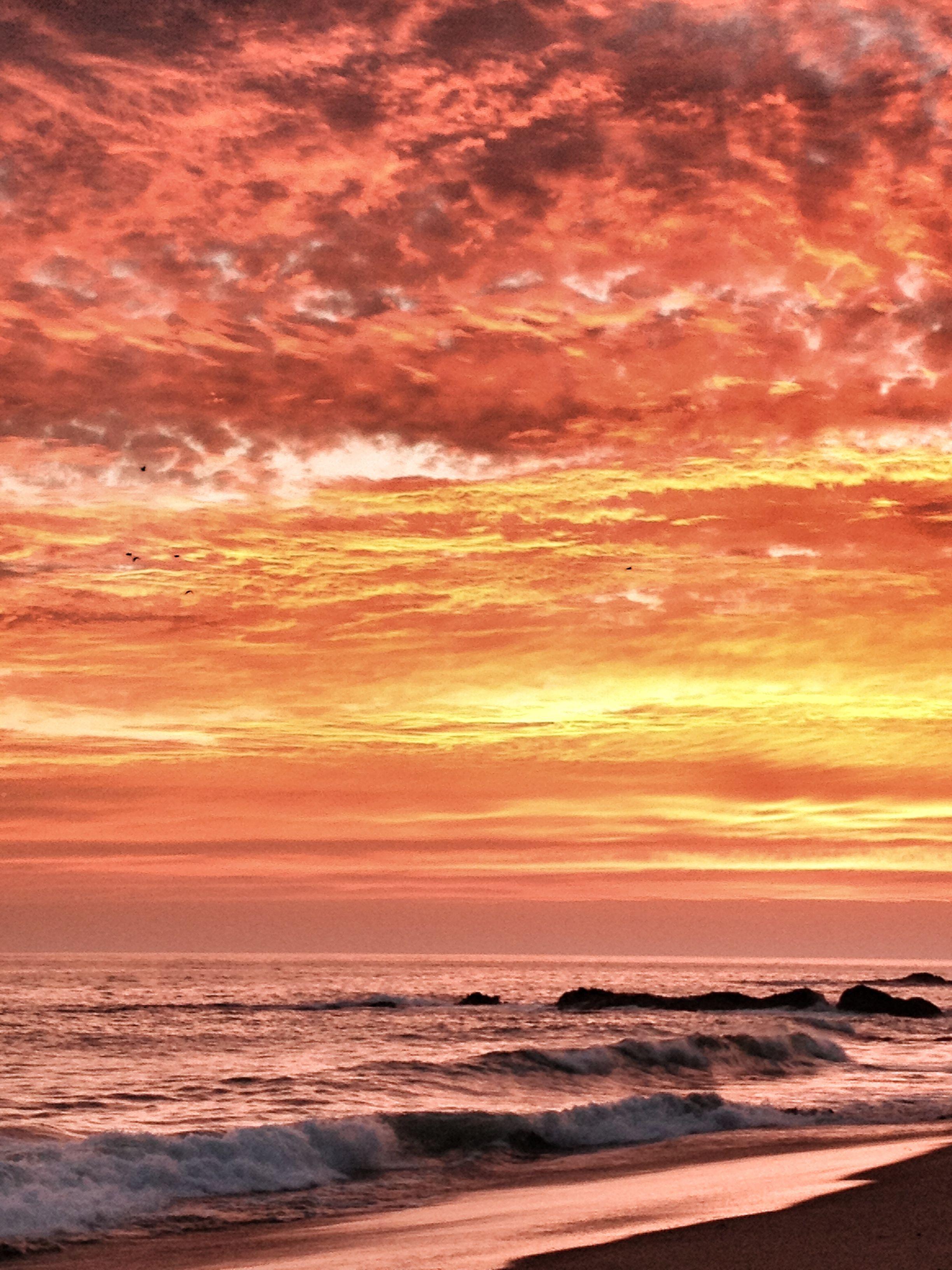 Laguna Beach sunset. Aug 2 2013.