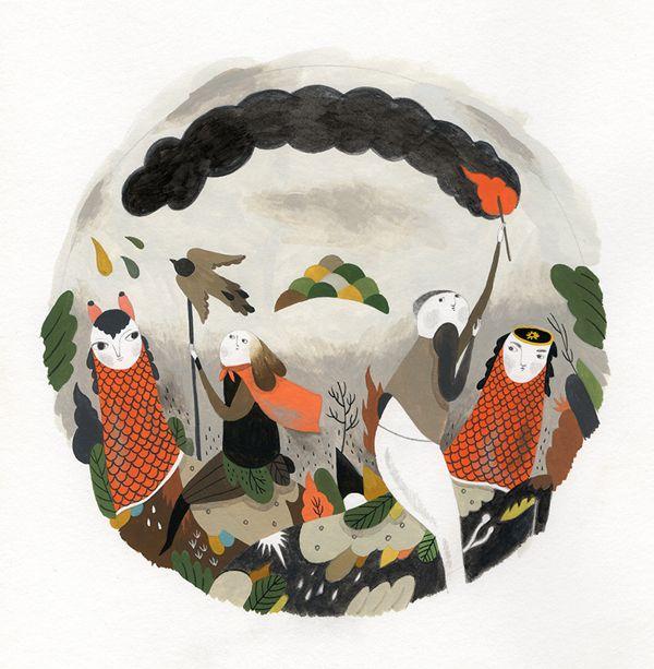 CD cover design by Inca Pan, via Behance