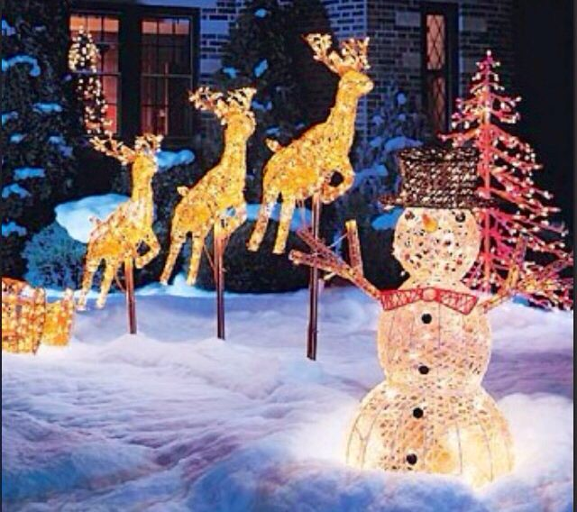 Christmas yard display CHRISTMAS Pinterest Christmas yard