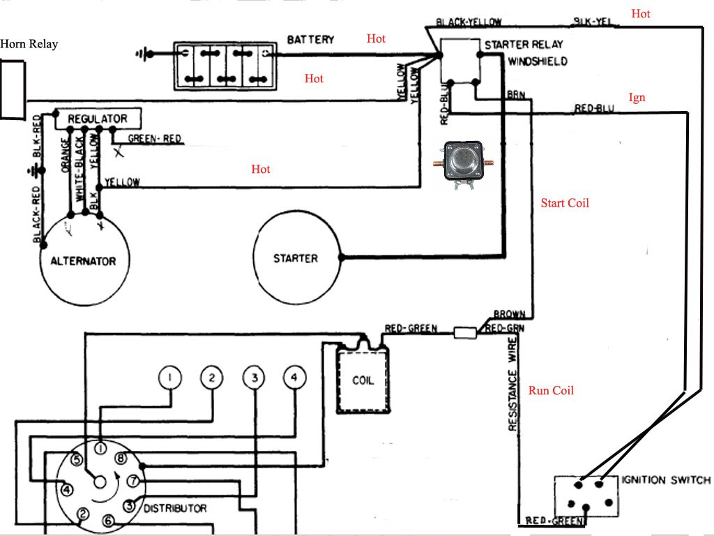 48923b6bf526c222f24332107e982183 1964 f100 wiring diagram 1965 f100 wiring diagram \u2022 free wiring 1969 mustang alternator wiring diagram at gsmportal.co