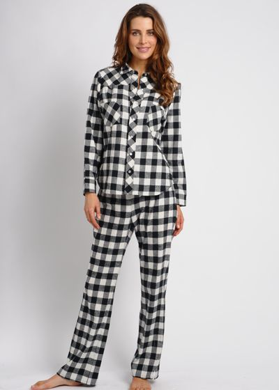 Western Style Flannel Pajamas Cashmere Robe 4d4b35706
