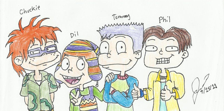 All Grown Up: The Boys by resotii on DeviantArt | Rugrats ...