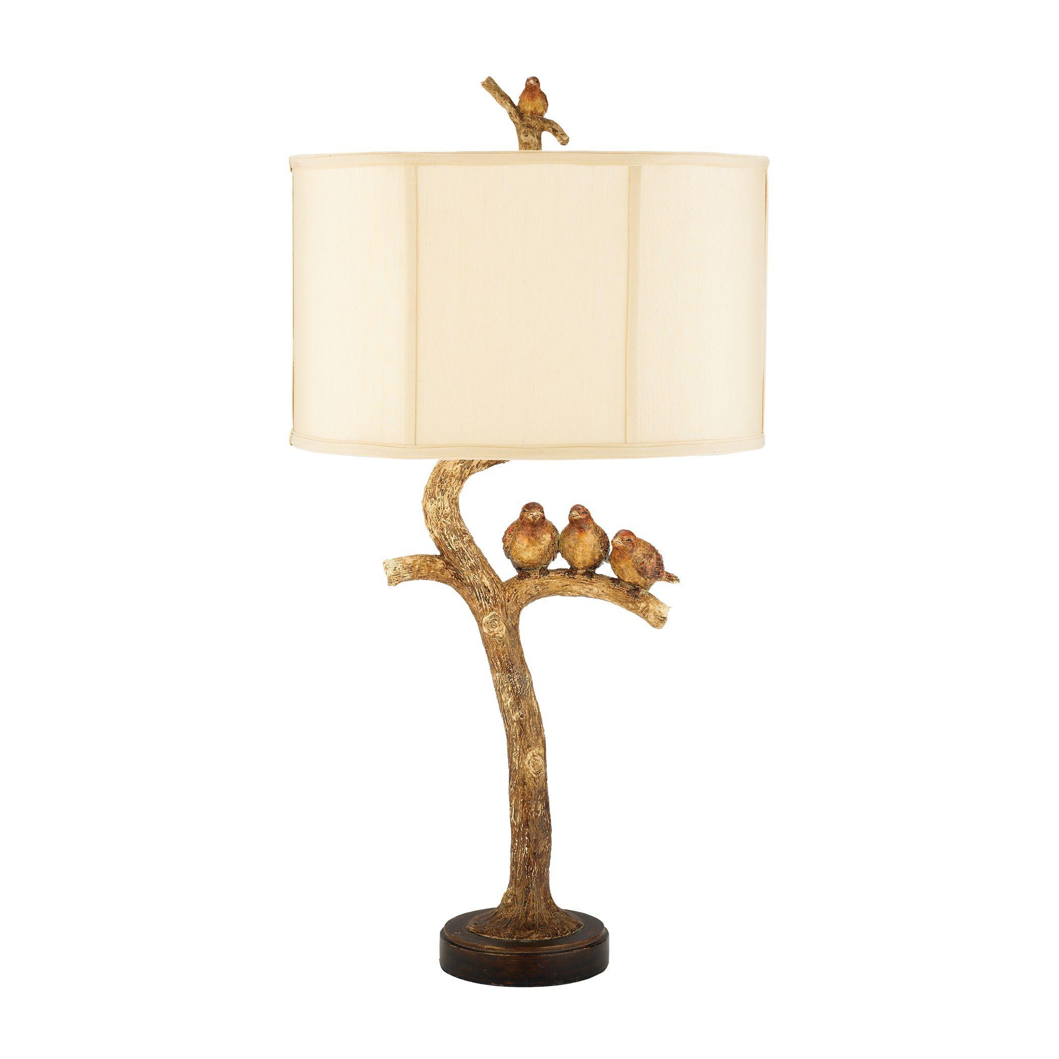 Dimond lighting 1 light golf leaf and black table lamp aloadofball Choice Image
