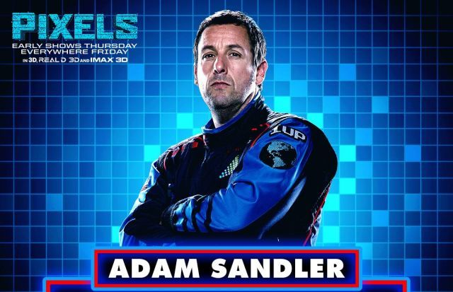 Adam Sandler's Latest Movie 'Pixels' Sux – Jewish Business News