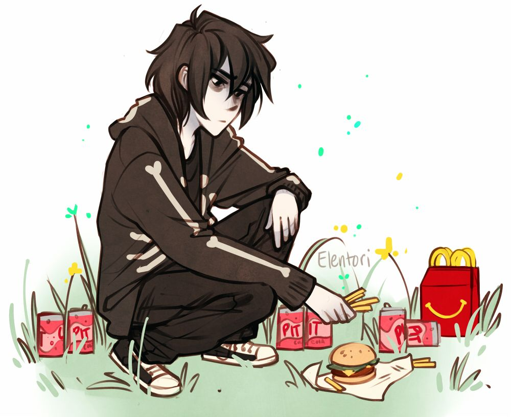 Fries for the Dead | art by elentori-art | PJO/HoO ...