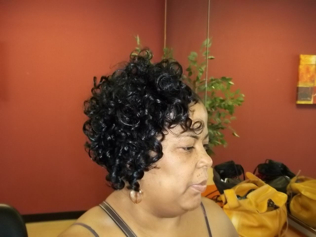 short curly quickweave styles for black women | quick weaves
