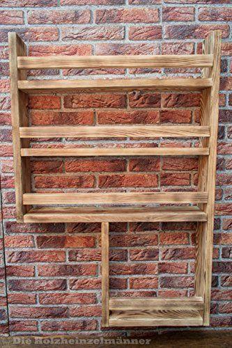 Gewürzregal aus Holz mit noch mehr Platz - hergestellt aus - küche selbst gebaut