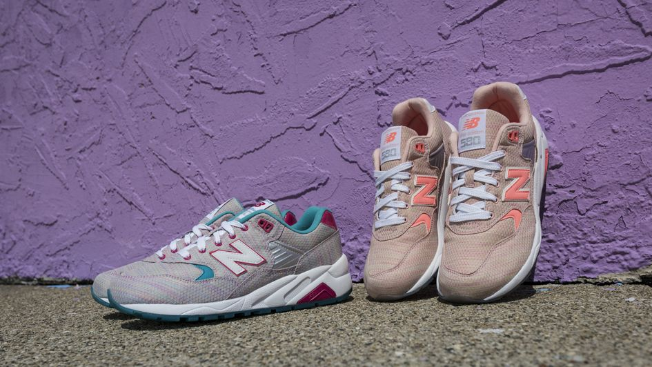 """cd215cc027cb1 New Balance 580 """"Sorbet Pack"""" – A Street Style Delicacy"""