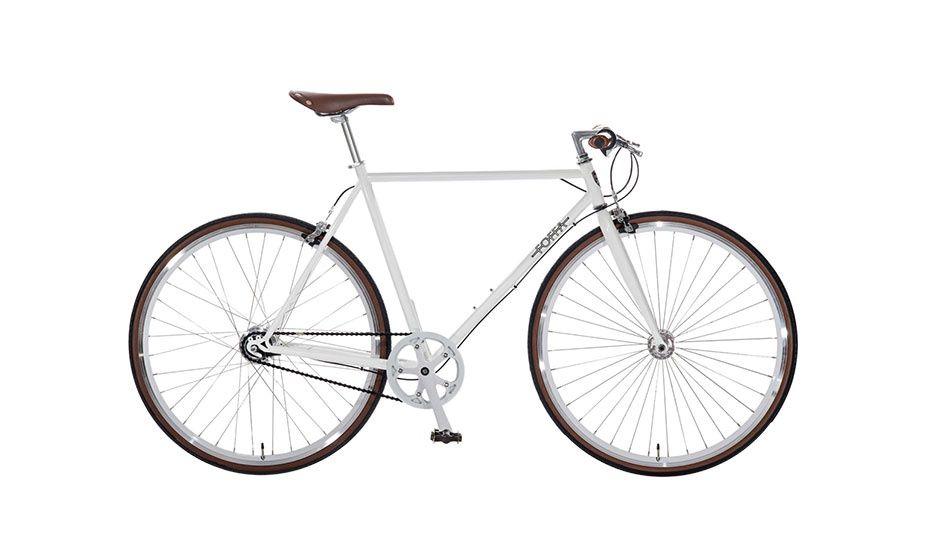 MONOQI | Urban 7-Gang-Rad - Weiß | Mobility | Pinterest