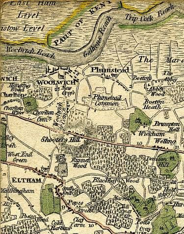 Click To Enlarge Top Left Quarter Eltham And Environs