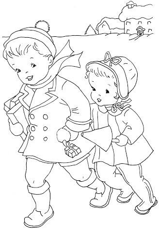 coloring page \'In The Candy Cane House\' - Bonnie Jones   Google+ ...