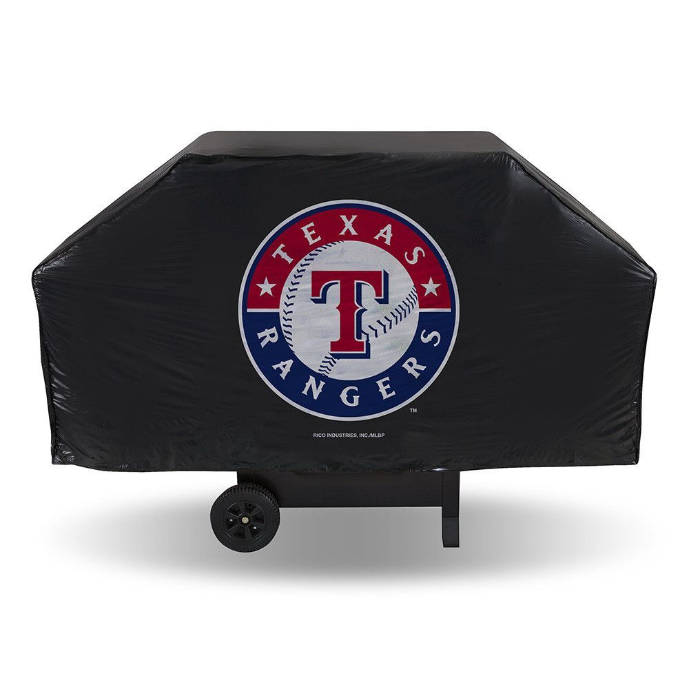 Texas Rangers MLB Economy Barbeque Grill Cover Grill