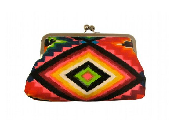 neon Indian clutch