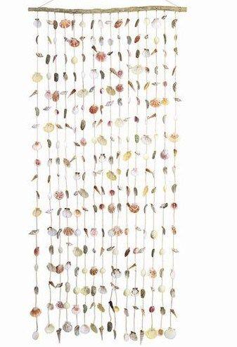 Charming Real Seashell Door Curtain   Shells