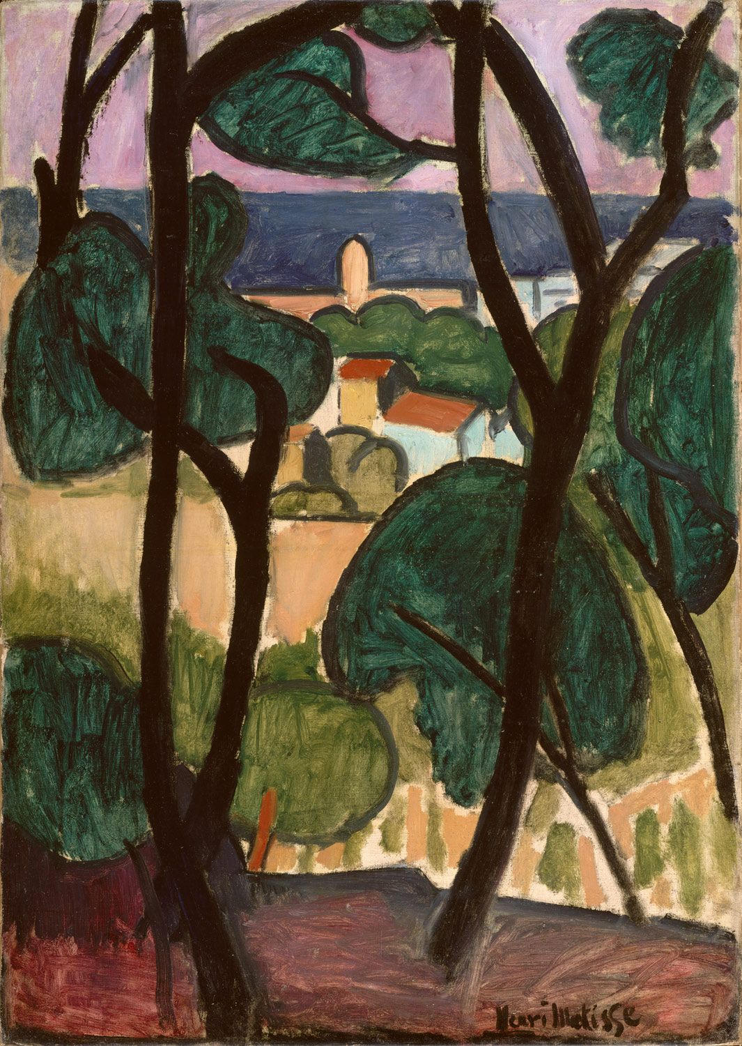 "thusreluctant: "" View of Collioure by Henri Matisse """