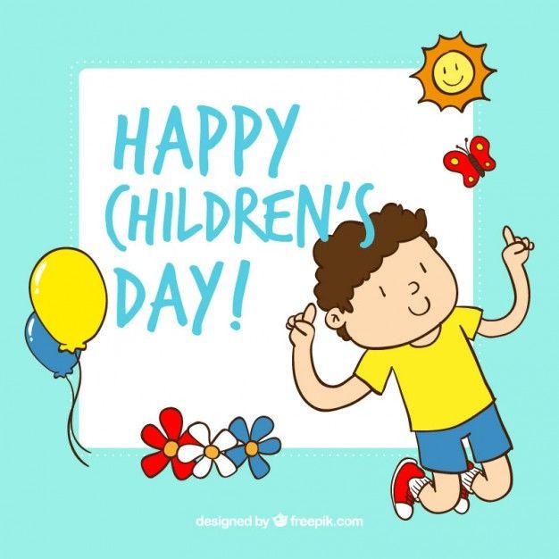 Happy Children S Day Greeting Ecard Happy Children S Day Children S Day Wishes Children S Day