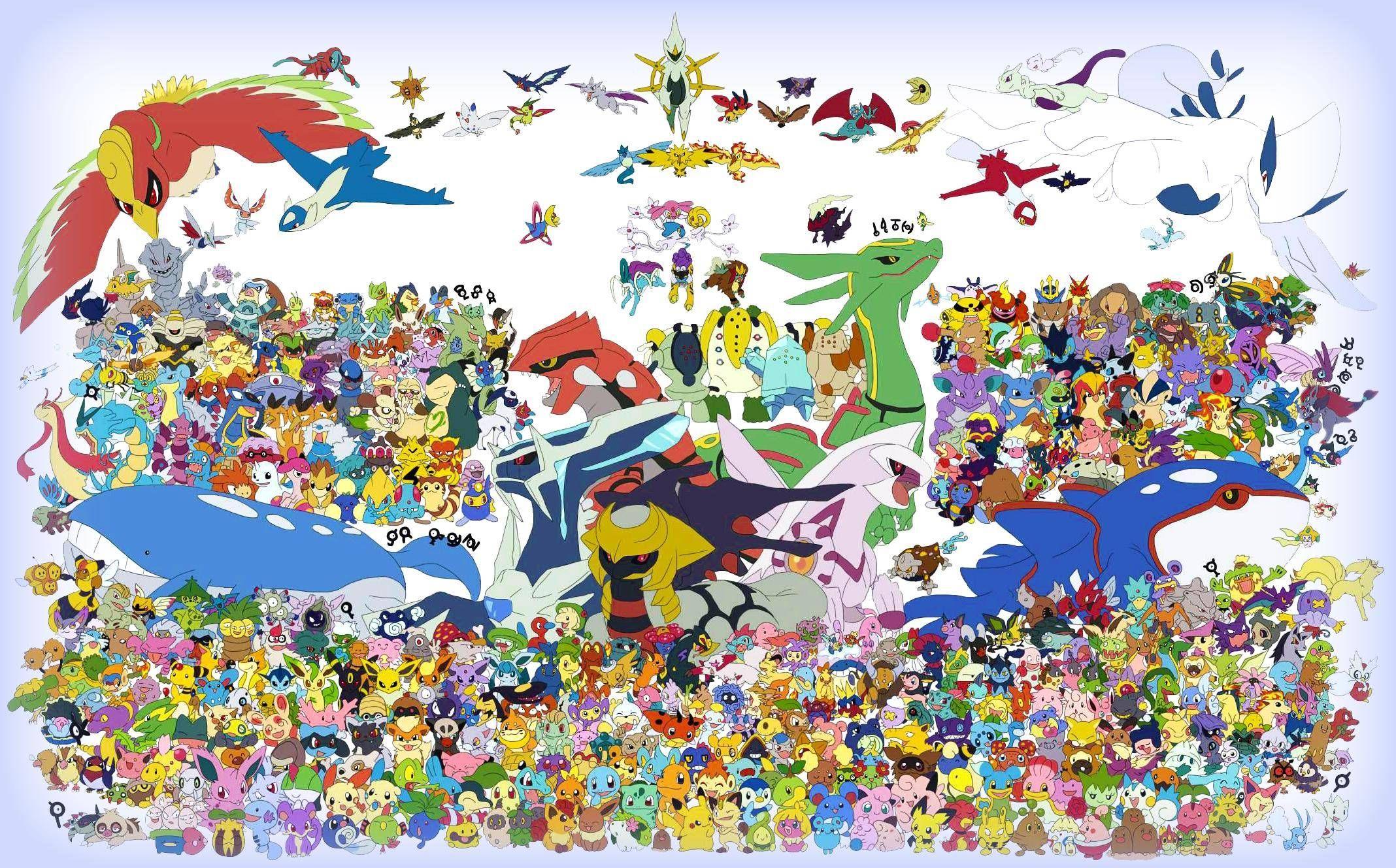 Imagen De Pokemones Legendarios Primera Generación Hd Buscar Con