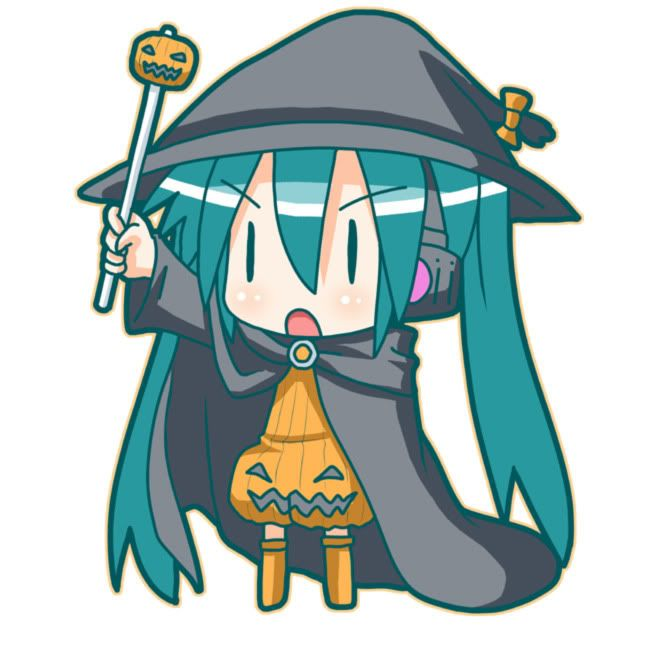 Anime Characters For Halloween : Halloween anime chibi pinterest