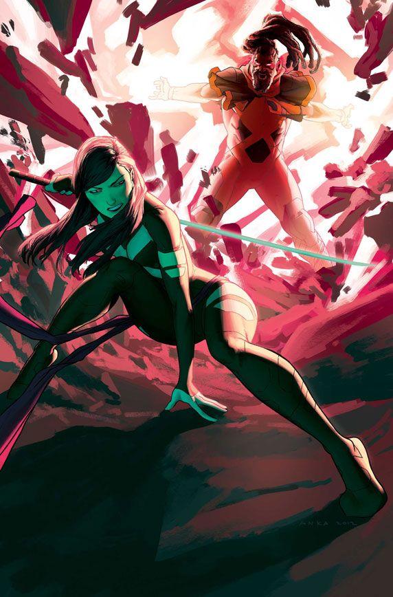 Psylocke & Bishop | #comics