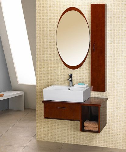 Dreamline Eurodesign Wall Mount Bathroom Vanity Dlvrb 133 - Contemporary-bathroom-vanities-from-dreamline