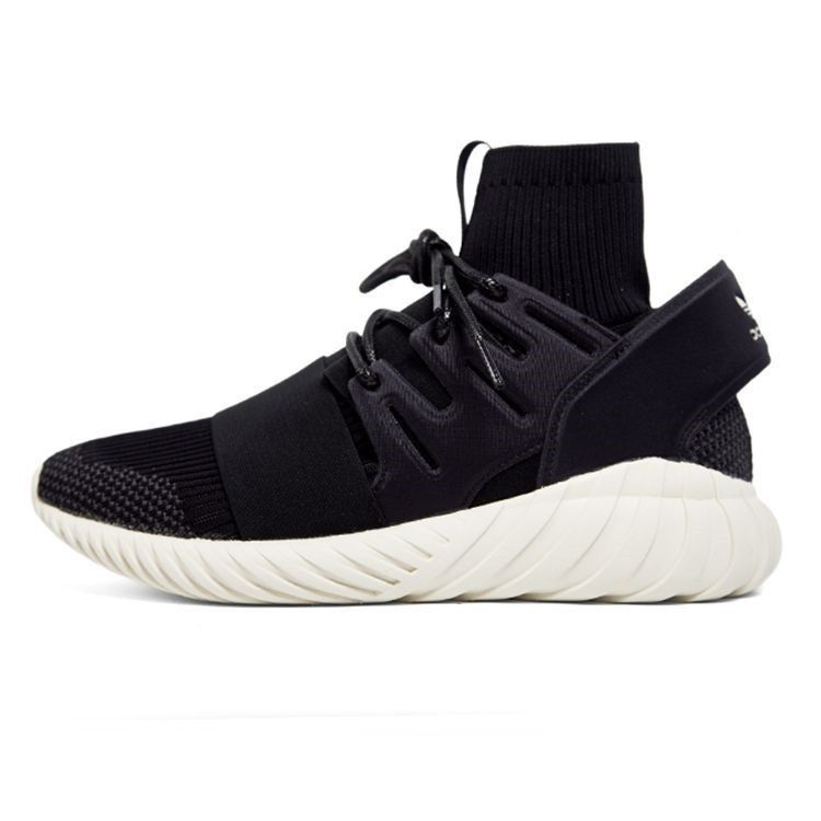 54f07b5483d Adidas Mens Originals Tubular Doom Primeknit Black grey Sneakers S74921