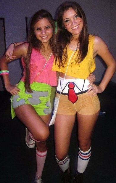 30 Last-Minute BEST FRIEND Halloween Costume Ideas ...