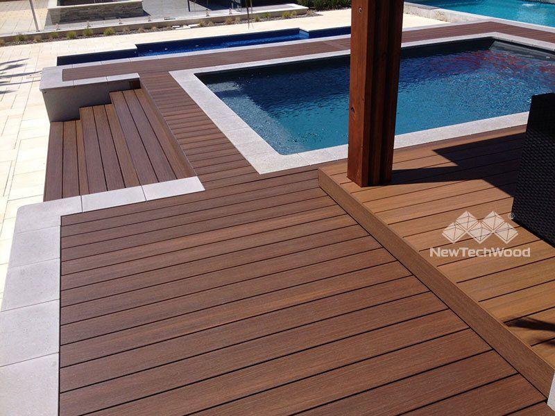 Gallery Composite Deck Boards Ultrashield By Newtechwood Cubiertas Compuestas Ideas Para Cubiertas Micro Casas