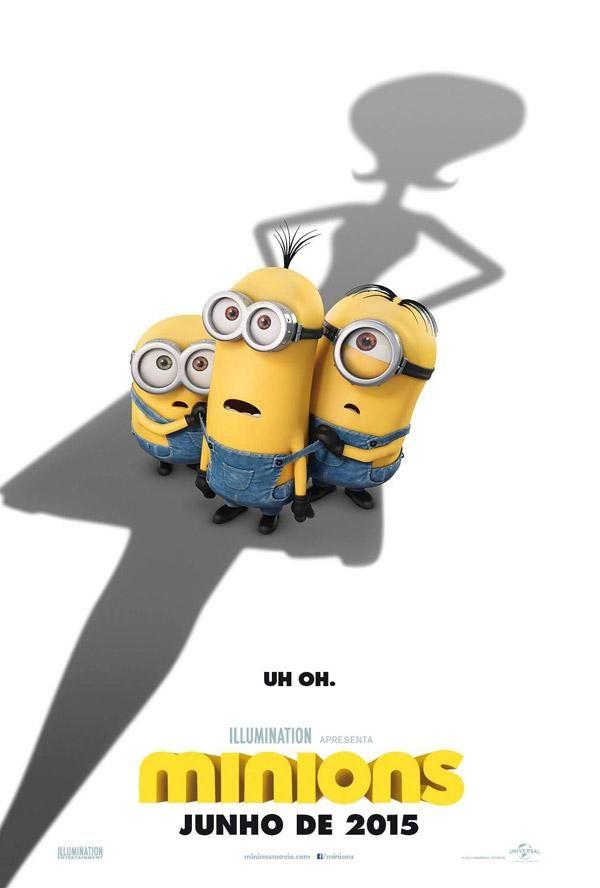 Novo Trailer E Poster Da Animacao Minions Filmes Cartazes De