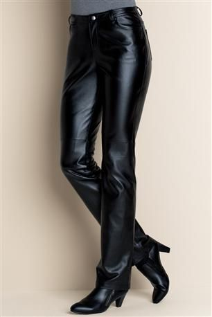 Are bootcut leather pants in style
