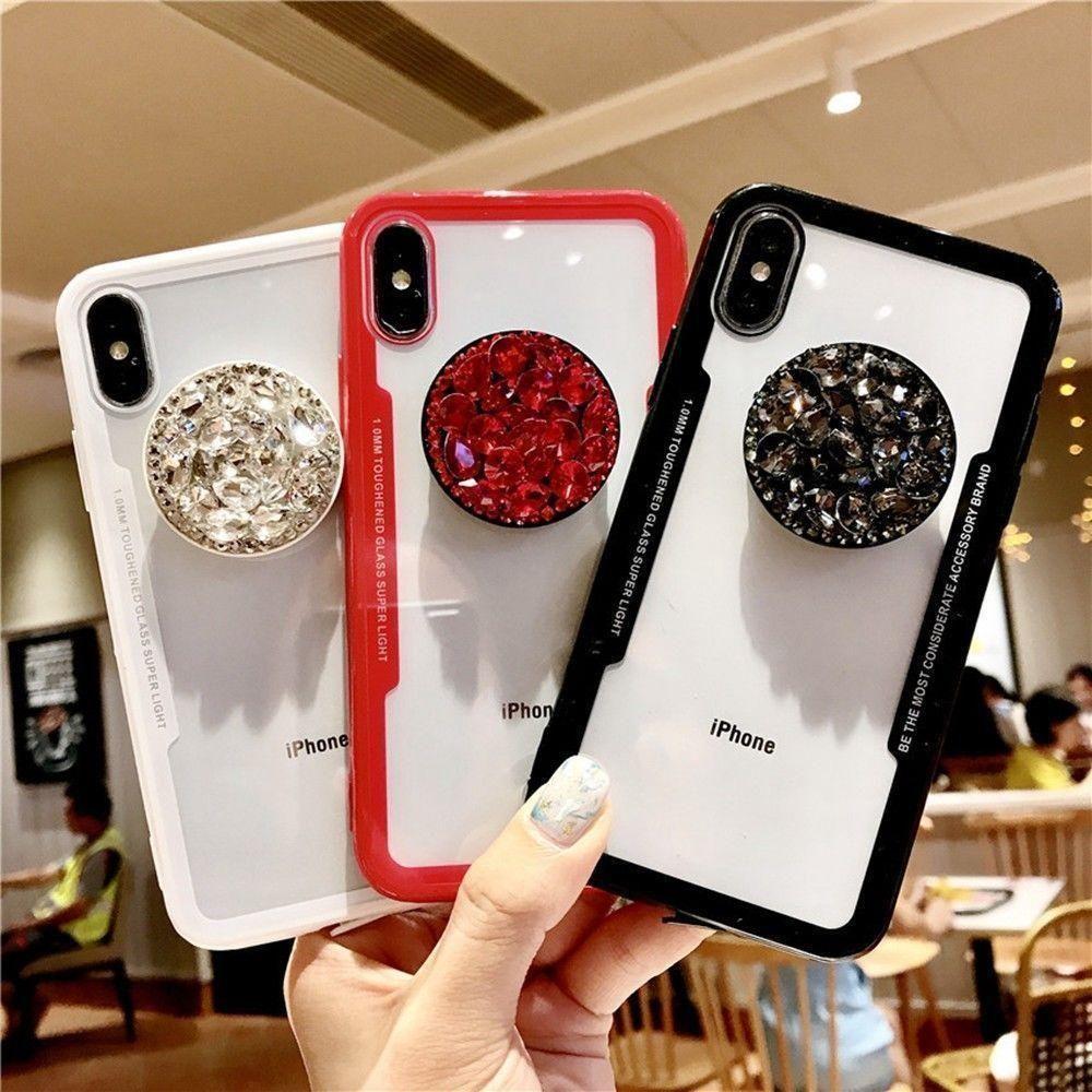3d diamond pop socket iphone samsung case pop sockets