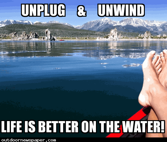Life Is Better On The Water Meme Outdoor Newspaper Outdoor Gear Review Retirement Travel Travel Inspiration