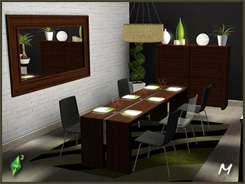 Marvelous SIMS3 SETS · Dining RoomsMy ...