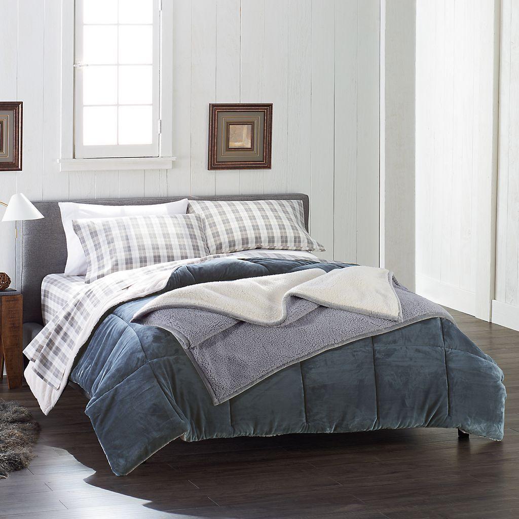 Cuddl Duds Cozy Soft Comforter Kohls Soft Comforter Set Soft
