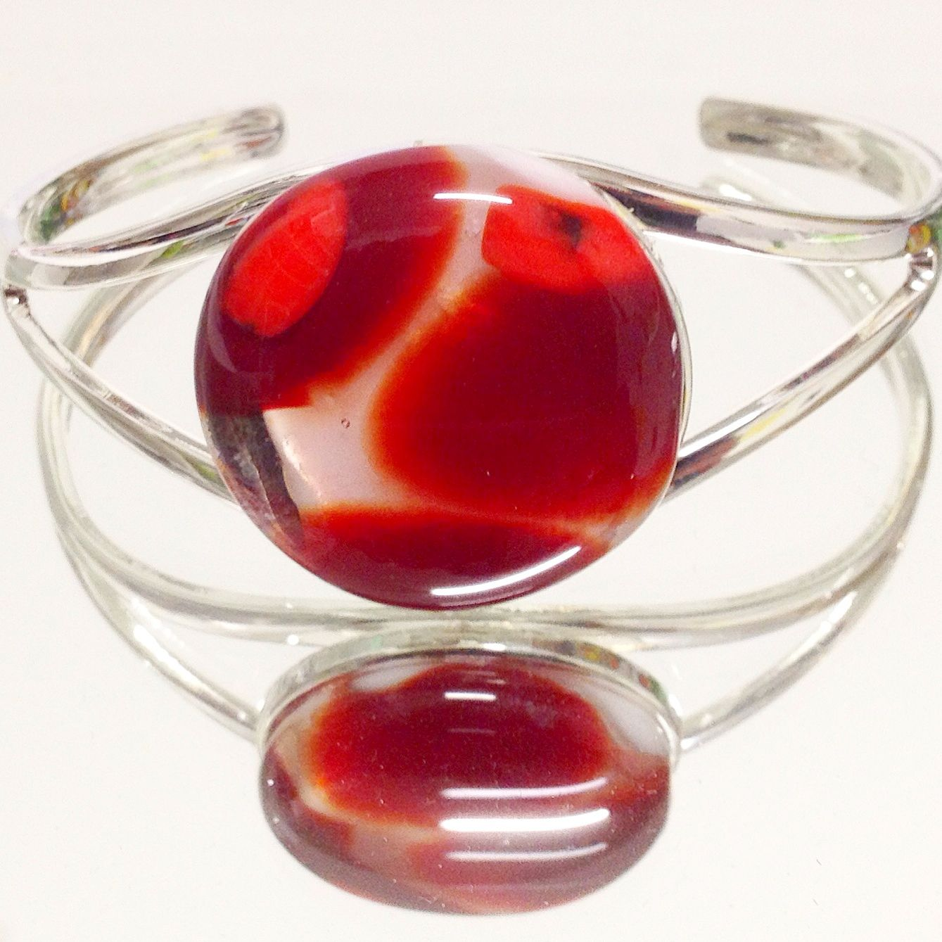 This is another piece of art glass that i have handmade i