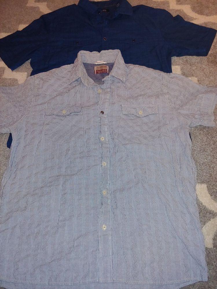 de32ae49bd3 Mens size large shirt lot of 2! Button down Alfani   Super bad shirt ...