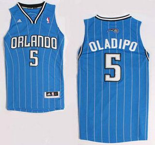 7f62f09ce63 Orlando Magic Jersey  5 Victor Oladipo Blue Revolution 30 Swingman Jerseys