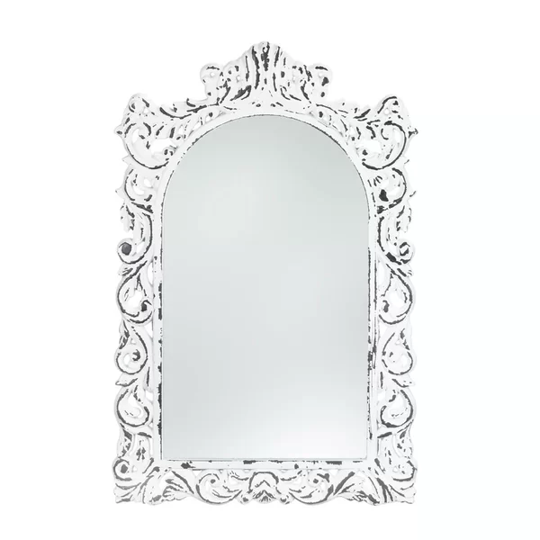 Sellar Distressed Wall Mirror In 2020 Shabby Chic Mirror Wall Mirror Wall Wood Wall Mirror
