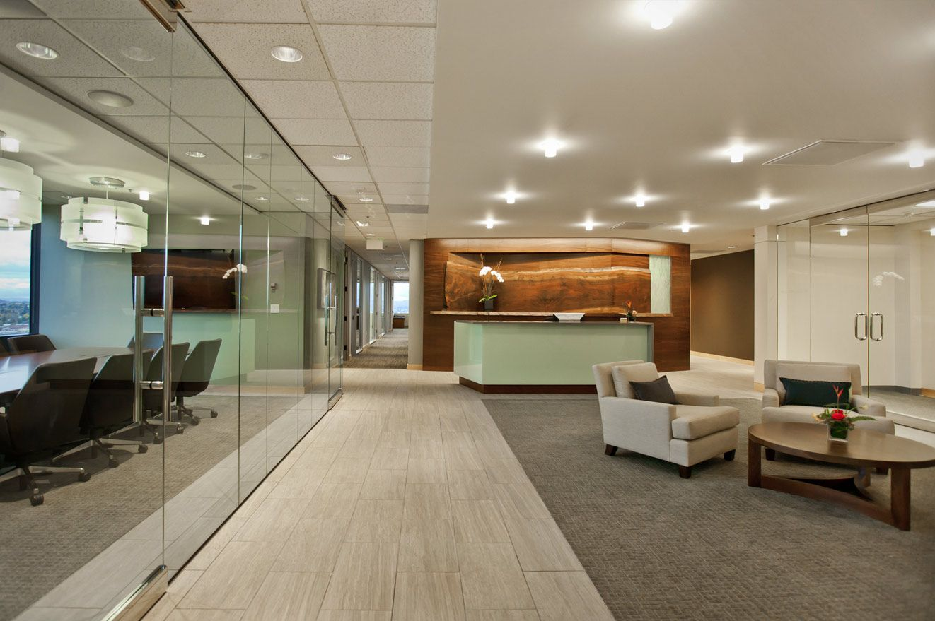 Beau Law Firm Interior Portland, Waterleaf Architecture