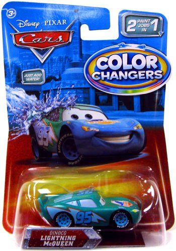 Disney Pixar Cars Movie 155 Color Changers Dinoco Lightning