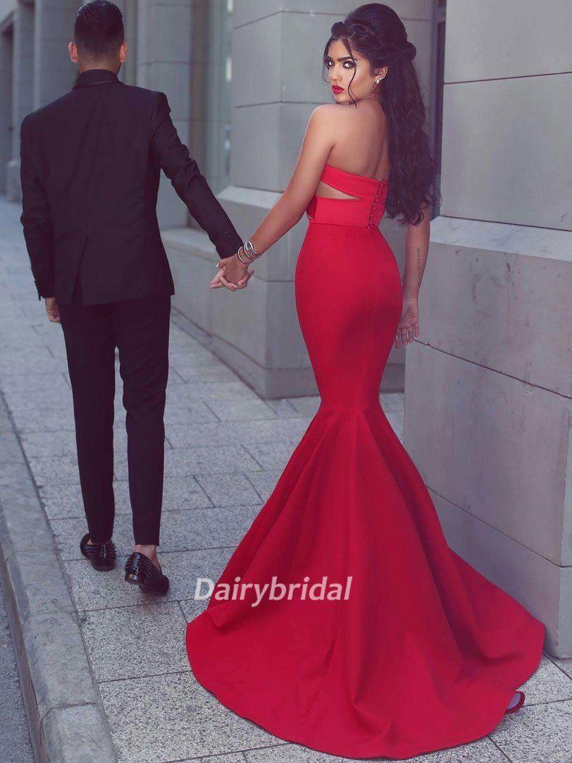 Long Prom Dresses, Satin Prom Dresses, Sweet Heart Prom Dresses, Mermaid Prom Dresses, Sexy Prom Dress, Floor-length Prom Dress, DA861