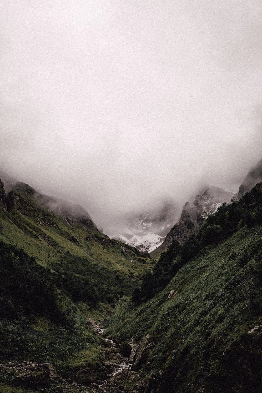 A Hike In The Bavarian Alps With Foggy Weather By Adrian Infernus Adrian Infernus Foggy Weather Nature Photos Nature Photography
