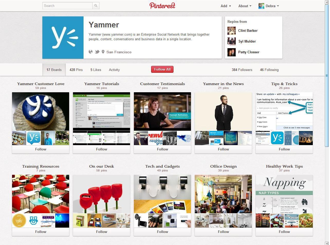 Using Pinterest for marketing