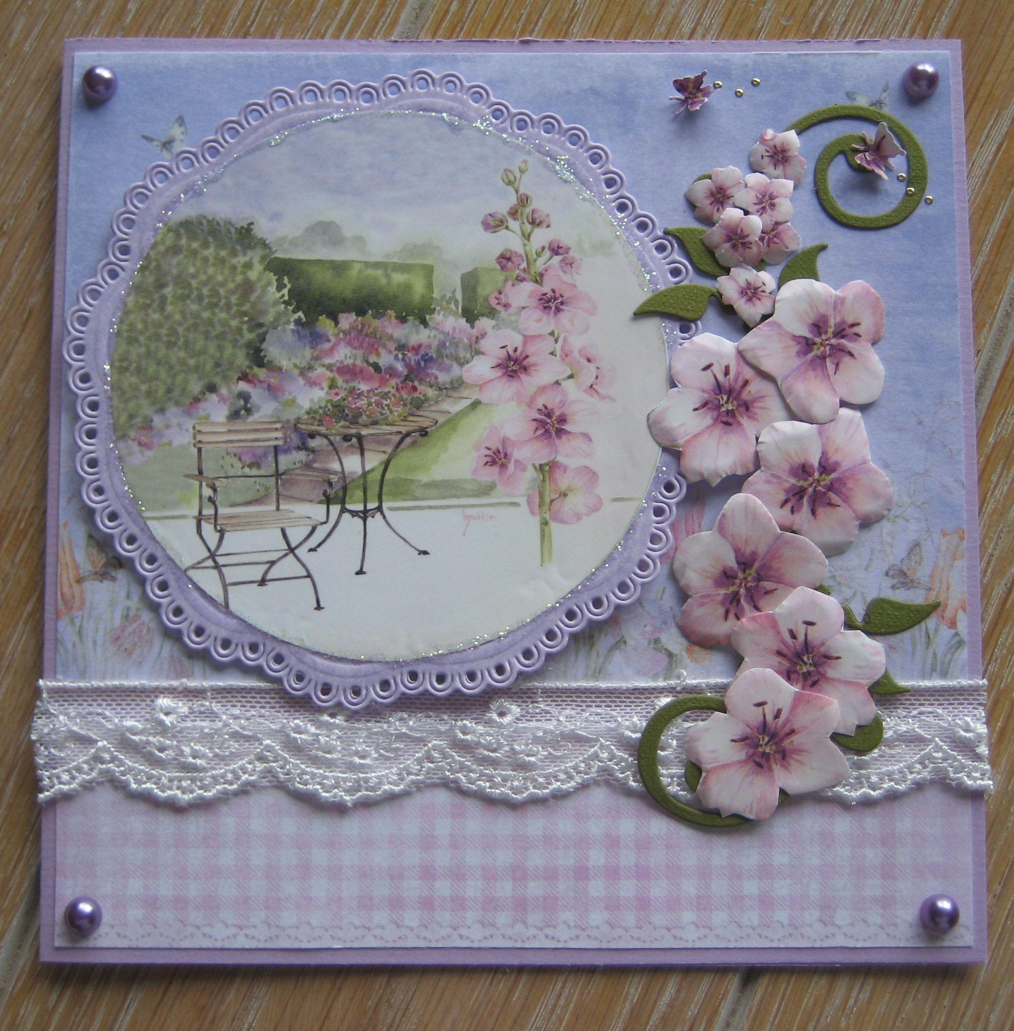 Mk bloemen bloemen pinterest cards card ideas and scrapbook