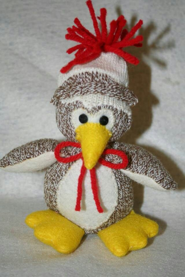 Sock Owl Sock Babies Pinterest Socks Owl And Sock Animals