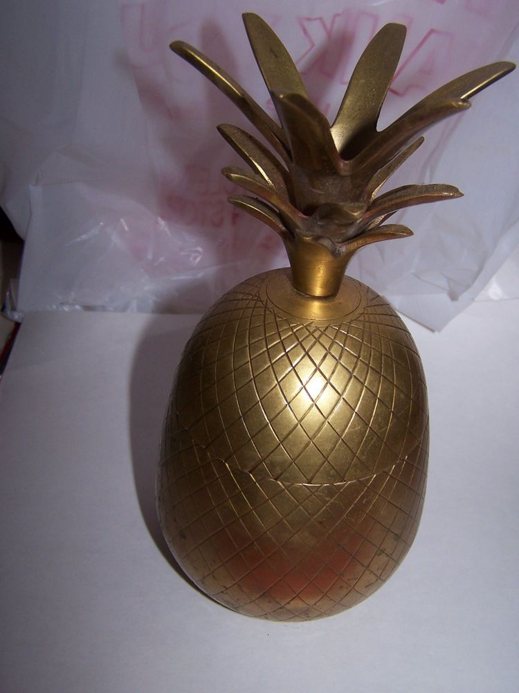 7 1 2 Brass Pineapple Decorative Crafts Inc