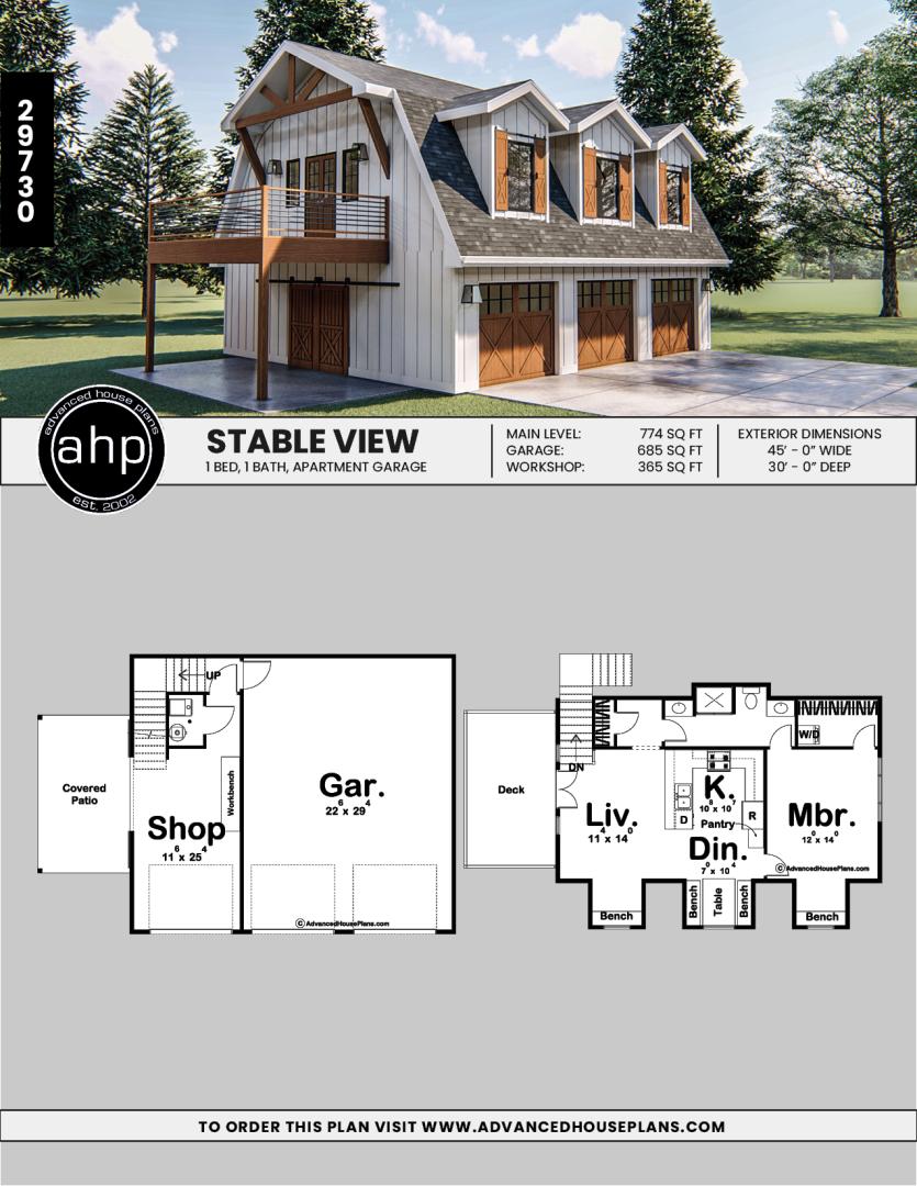 42++ Modern farmhouse garage plans ideas