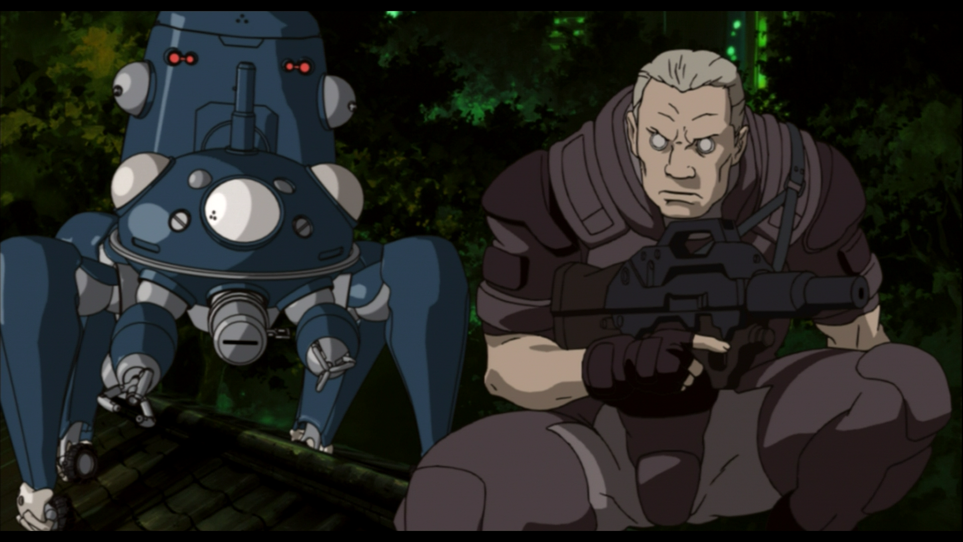Ghost In The Shell Stand Alone Complex Hd Screenshots 攻殻
