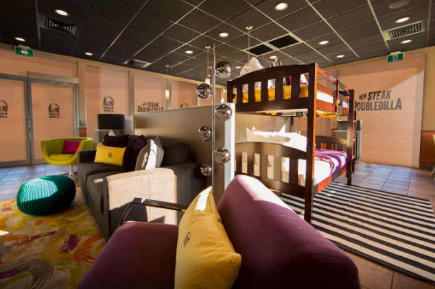 You Can Now Live Más With A Taco Bell Sleepover Stay