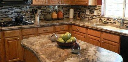 Concrete Countertop Finishes Concrete Kitchen New Kitchen
